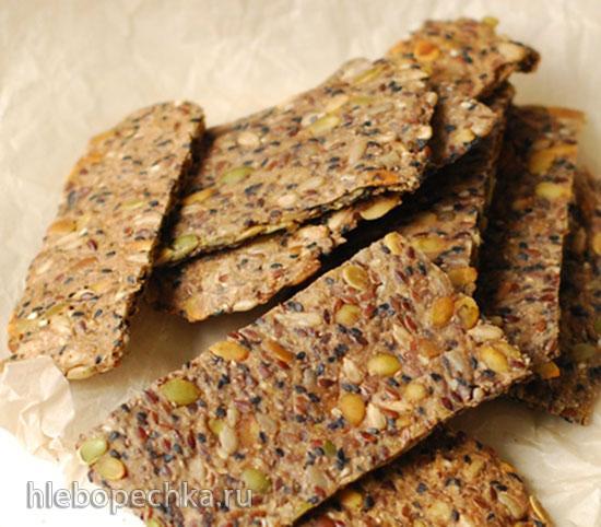 Низкоуглеводные крекеры с семенами