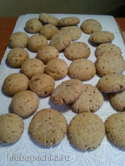 Фафернуха - медово-ореховое печенье
