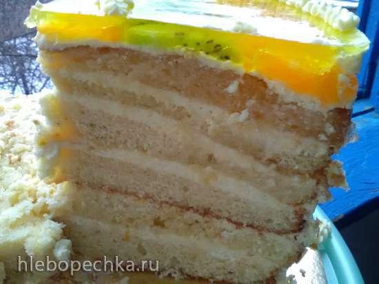 """Торт апельсиновый """"Lambada"""""""