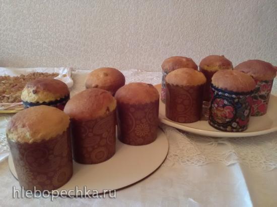Кулич с Мясоедовской в духовке (мастер-класс)