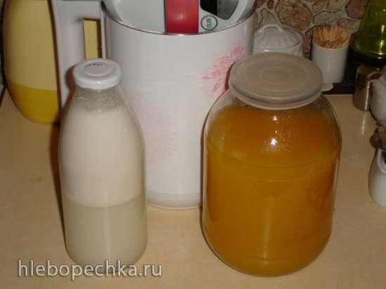 Кокосовое молоко в «соевой корове» soy milk maker (Midea Mi-5)