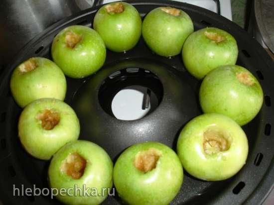 Печеные яблоки (чудо сковорода гриль-газ D-512)