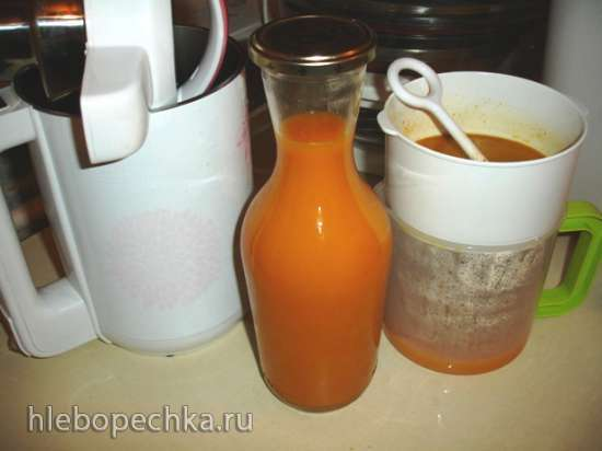 Облепиховый напиток в «соевой корове» Midea Mi-5