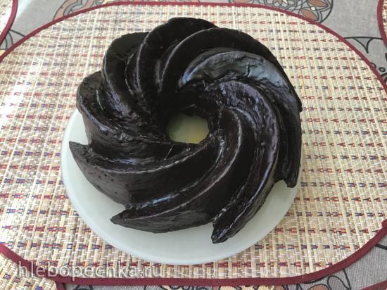 Шоколадный кекс на закваске (на лишней закваске)