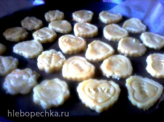 Печенье сливочное с апельсиновой цедрой в пиццамейкере Princess 115000