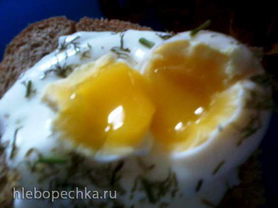 Яйцо-пашот в микроволновке