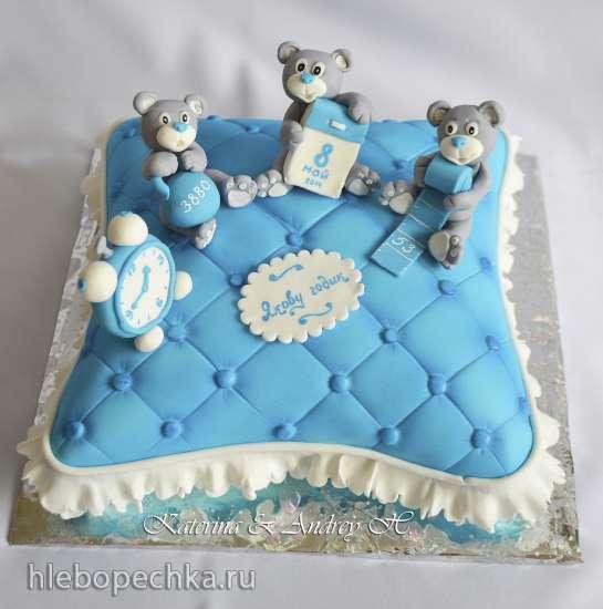 Муравьиная горка торт фото