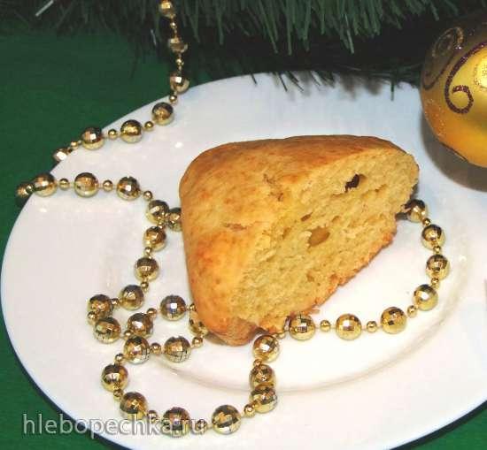 Кекс с орехово-коричной прослойкой