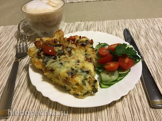Ленивый завтрак-запеканка «Breakfast Casserole»