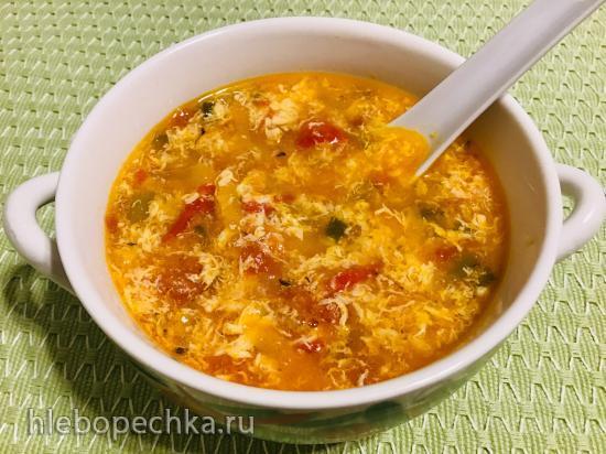 Яично-томатный суп фанцедань тан (番茄蛋汤)