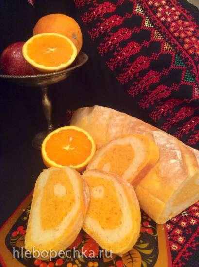 Свекольно-шпинатный хлеб «Арбуз»
