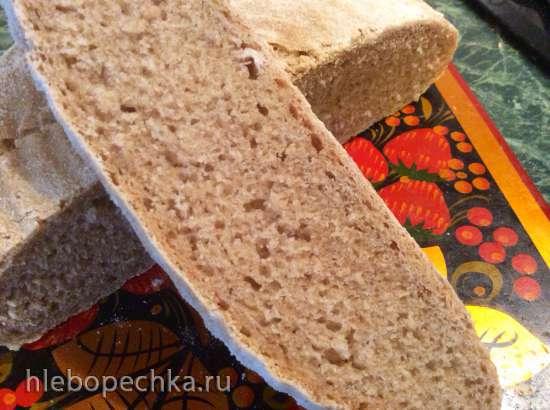 Замес хлебного теста (пшеничного и пшенично-ржаного) в комбайне и вручную