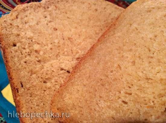 LG HB-151JE. Хлеб из цельнозерновой муки с мёдом на прессованных дрожжах