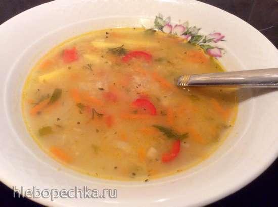 Леща чорба - постный чечевичный суп (мультиварка Zigmund & Shtain MC-DS42IH)