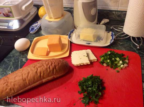 Багетная Лодочка на завтрак (пиццепечка Принцесс)
