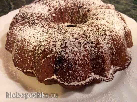 Шоколадный кекс с кусочками шоколада (Кексница GFW-025 Keks Express)