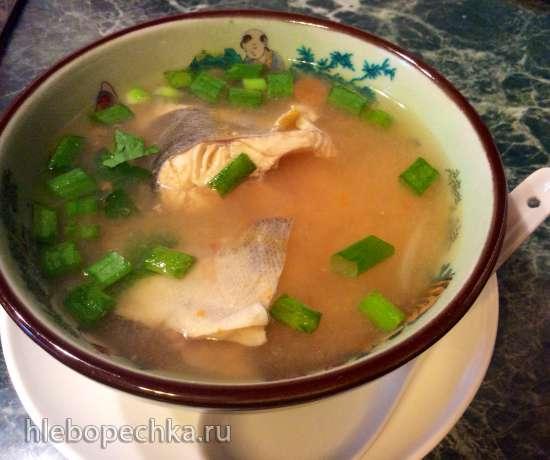 Суп легкий из радужной форели (стационарный блендер-суповарка Moulinex)