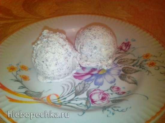 Мороженое ванильное