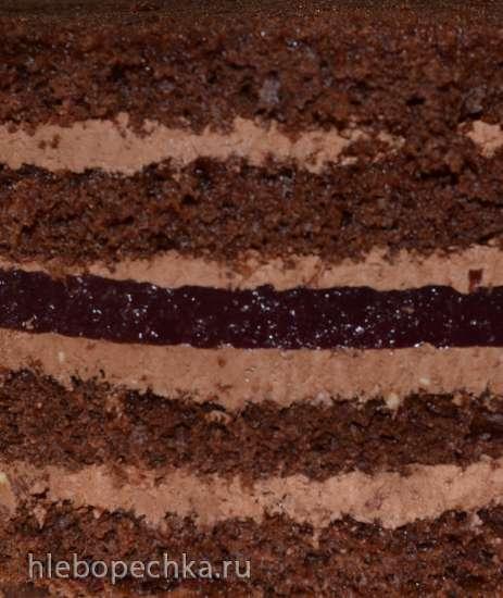 Торт Вишневый трюфель