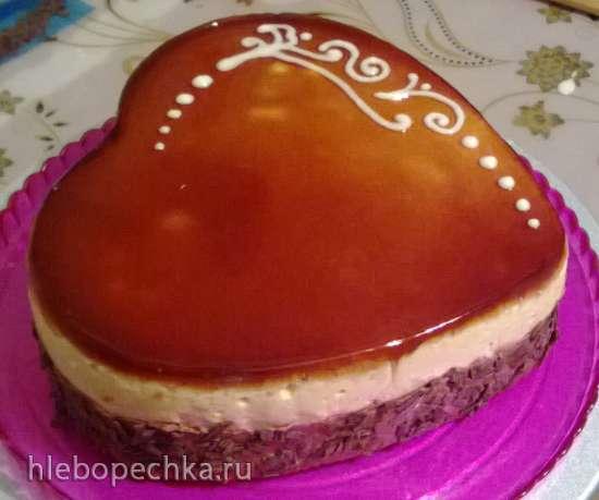 Торт «Иннета» с карамелизированными яблоками