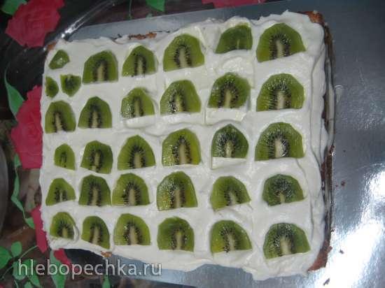 Торт  Даша Следопыт (мастер-класс)