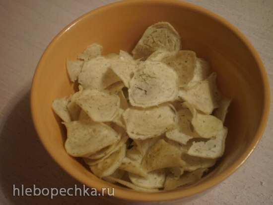Картофельные чипсы (картофель сушеный) - как делать!?