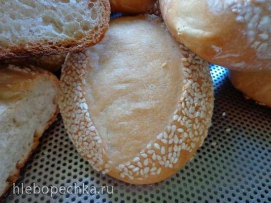 Хлеб  пушистый с разрезом