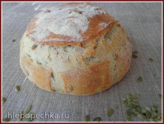 Хлеб  с картофелем и семенами тыквы