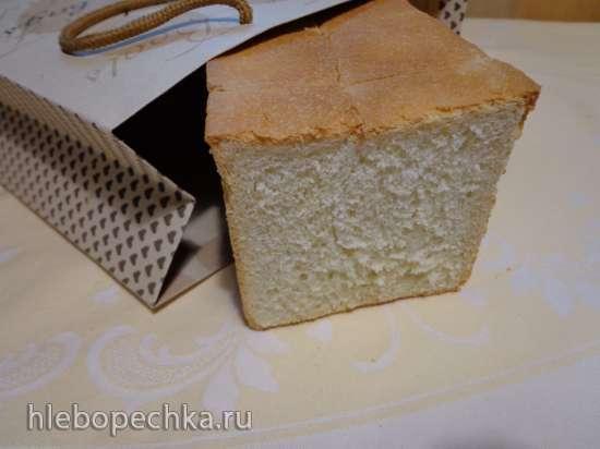 Хлеб для тостов на спелом тесте