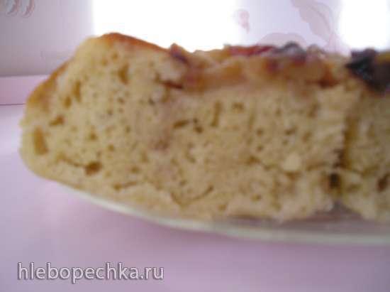 Кекс-шарлотка в рисоварке 1 л с тефлоновой чашей