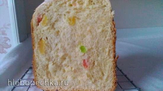 Кулич с творогом в хлебопечке Maxwell 3752