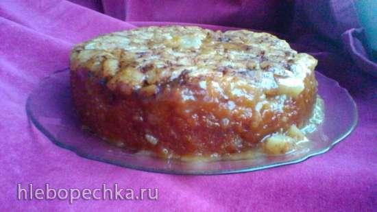 Десерт «Яблочный пудинг» в медленноварке