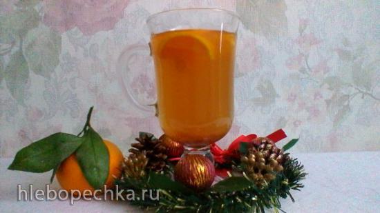 Яблочный сидр (Slow Cooker Apple Cider) в медленноварке Kitfort KT 2010