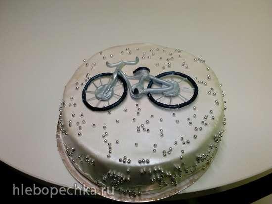 Торты, украшенные мастикой и марципаном (12)