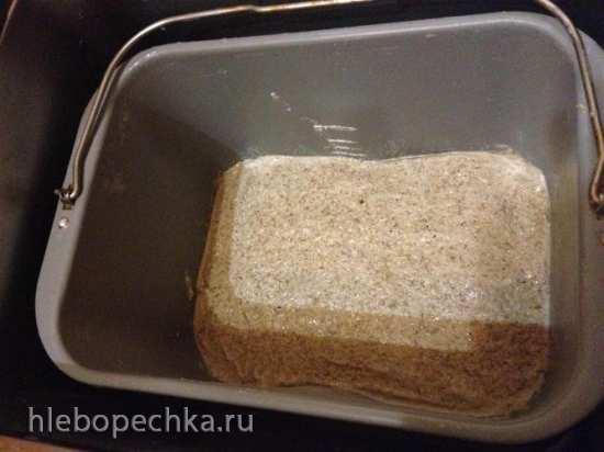 Хлеб зерновой в хлебопечке