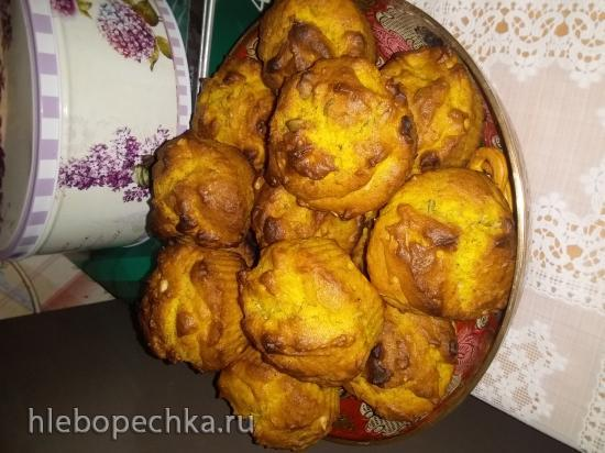 Тыквенно-имбирное печенье постное