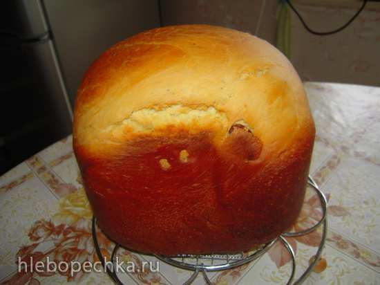 Кулич  в хлебопечке без хлопот