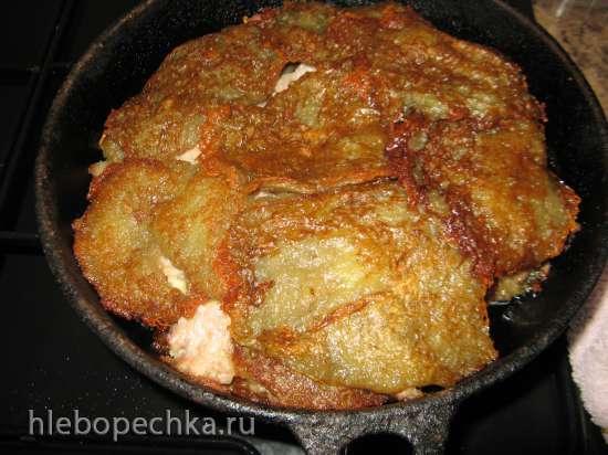 Оладьи картофельные по-мински