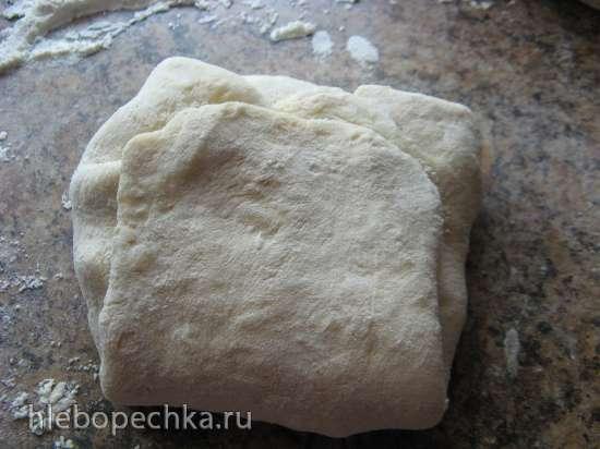 Лепешки сырные с начинкой