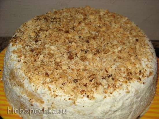 Торт слоеный «сборный» с масляным кремом