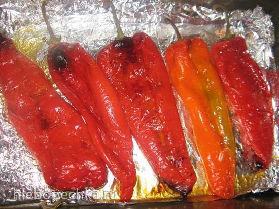 Перец сладкий маринованный для бутербродов и гарнира