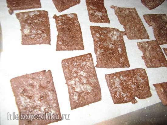 Крекеры шоколадные или вкусная замена мини-барни