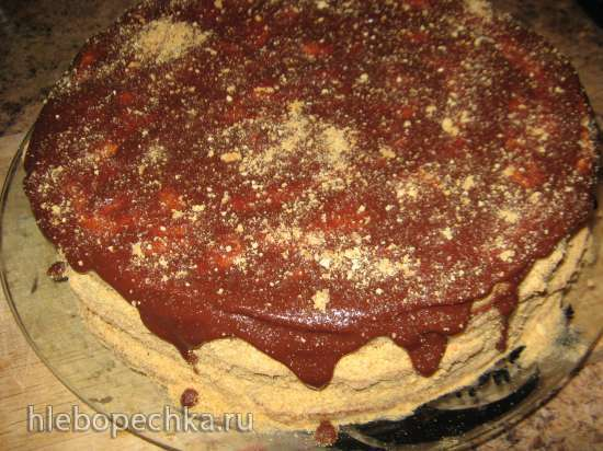 Торт-медовик Одесский