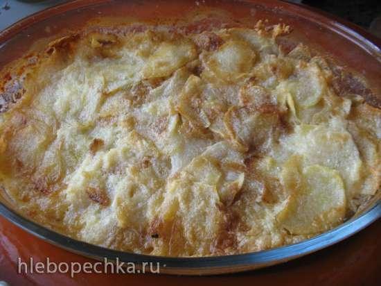 Картофель с чесноком по-фински