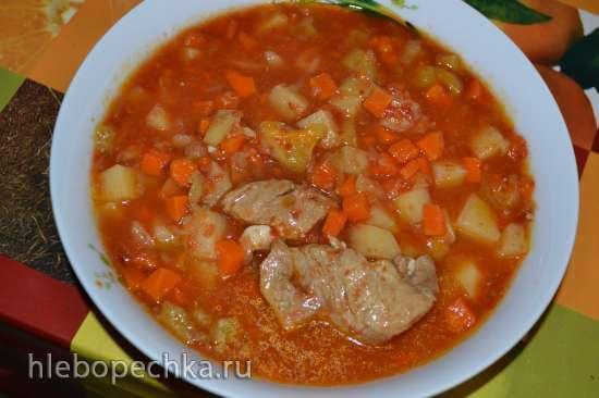 Чорба с курицей по-сербски (Steba DD1)