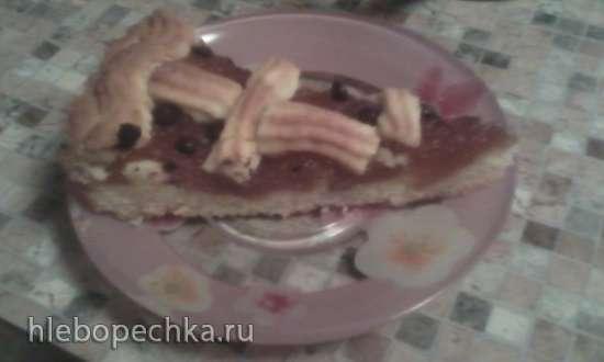 Пирог с компотом (Кompottkuchen)