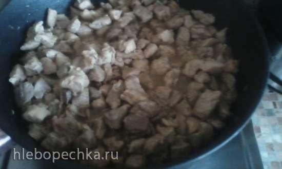 Мясо тушеное Нежное