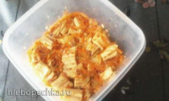 Спаржа по мотивам корейской морковки
