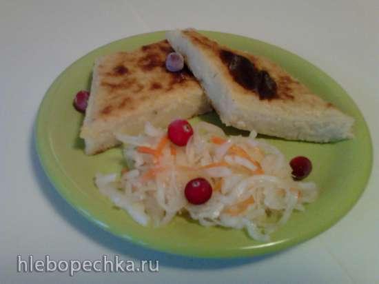 Картофельники печеные с брынзой (духовка/пиццепечка  Princess 115000)