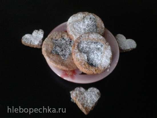 Печенье по мотивам рецепта «Линценский торт» от Энне Бурда